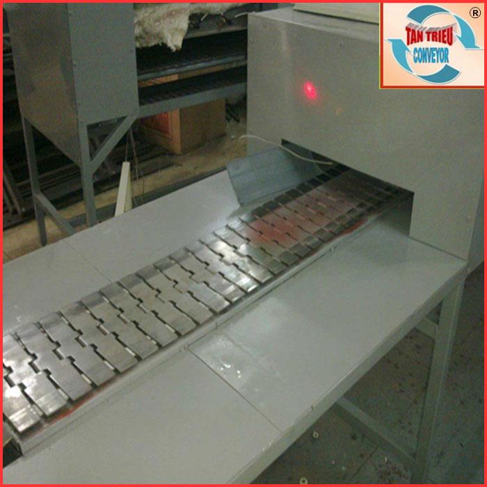 Ứng dụng của xích băng tải trong hệ thống lò sấy