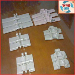 Các loại xích băng tải nhựa